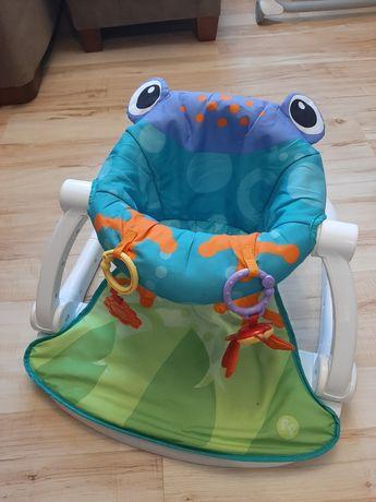 Fisher-price fotelik,krzesełko,siedzisko Żaba