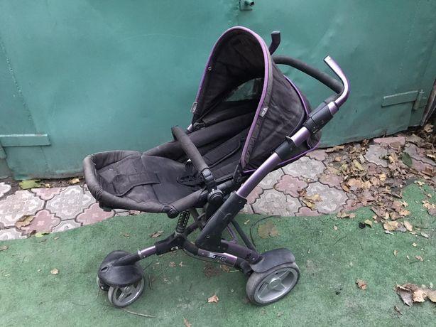 Детская коляска трехколесная трансформер