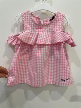 Tommy Hilfiger sukienka dziewczęca na 2 lata