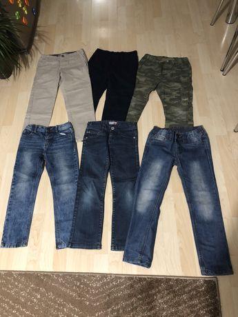 spodnie dla chlopca w bardzo dobrym stanie - dżinsy i inne