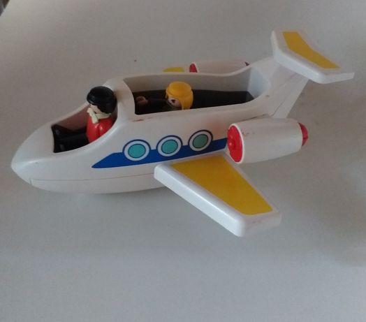 Playmobil samolot z figurkami