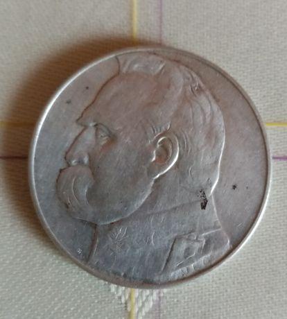 10 злотих 1935 Пілсудський