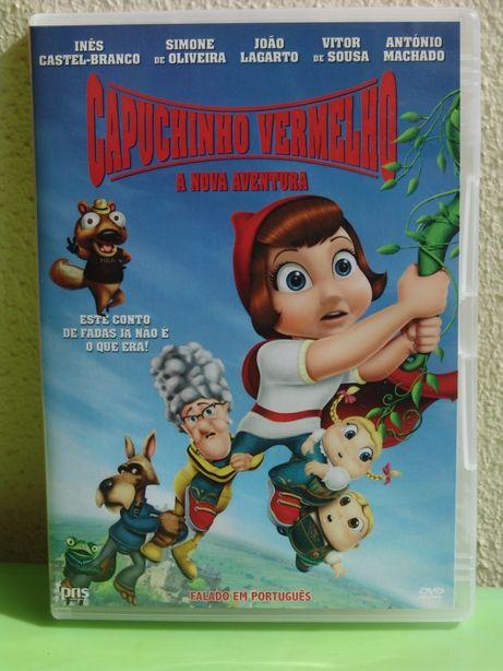 DVD - Capuchinho Vermelho - A Nova Aventura
