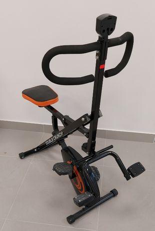 Ławeczka do brzuszków ćwiczeń rowerek DOUBLE CRUNCH 7831 HURT-DETAL