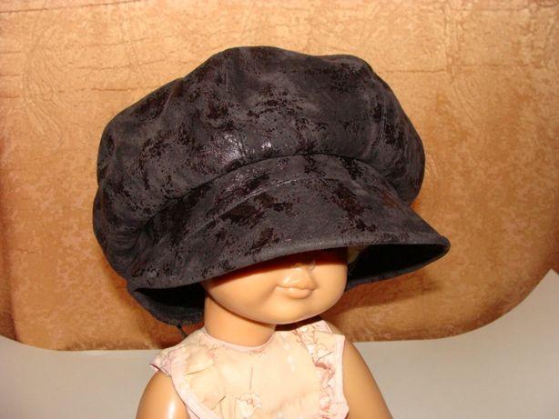 Кепи кепка восьмиклинка шапка женская флис демисезонная осень весна