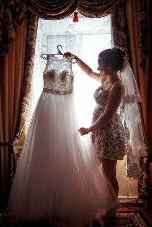 Дизайнерское роскошное свадебное платье