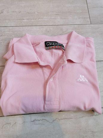 Koszulka Kappa różowa L