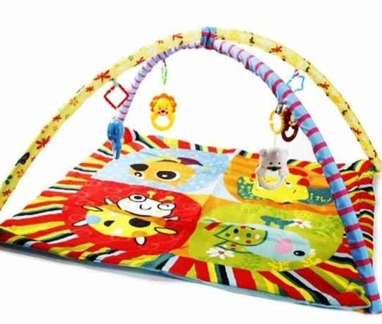 Багатофункціональний килимок з дугами та іграшками