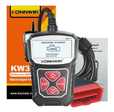 KONNWei KW310 диагностический автомобильный OBD2/EOBD сканер, русский