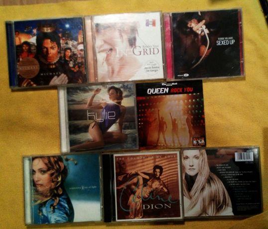 Zestaw 8 płyt CD pop rock radio