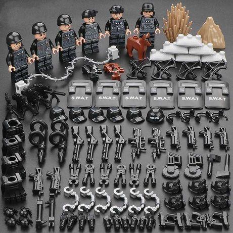 Фигурки спецназовцев америкаские военные США аналог лего Lego