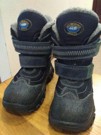 Зимние, очень теплые ботинки 28 размер