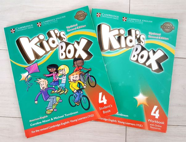 Kid's box 4 Caroline Nixon &Michael Tomlinson