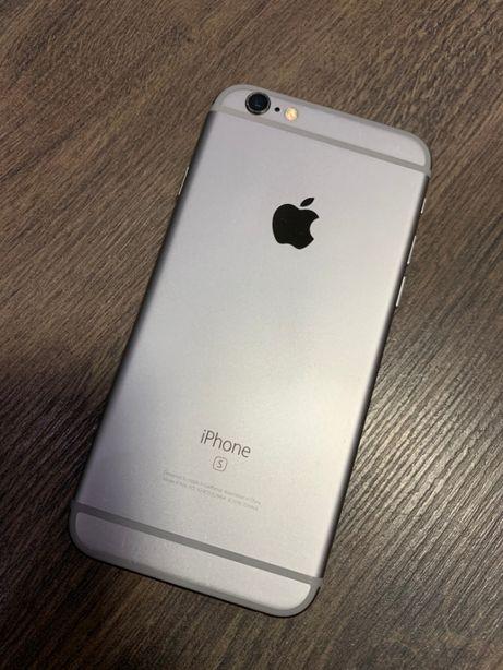 Телефон Iphone 6s 32gb Space grey neverlock Айфон как НОВЫЙ!!!