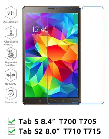 película samsung tab s t700 t705 8.4 galaxy s2 t710 t715 8.0