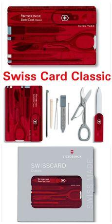 Victorinox SwissCard Classic 0.7100.Т Lite 0.7300.Т Nailcare 0.7240.T