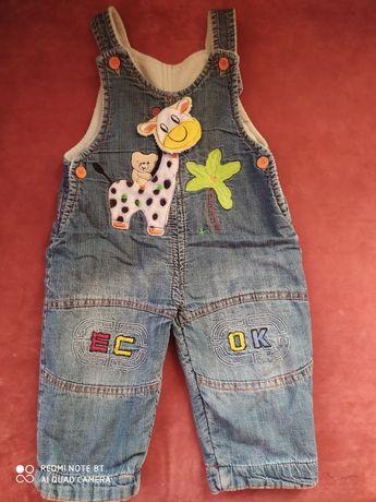 Продам джинсовый полукомбинезон