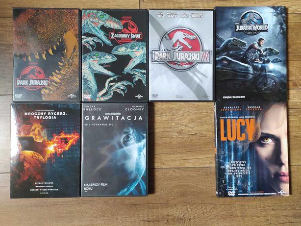 Jurassic Park / World, Batman / Mroczny Rycerz, Grawitacja, Lucy