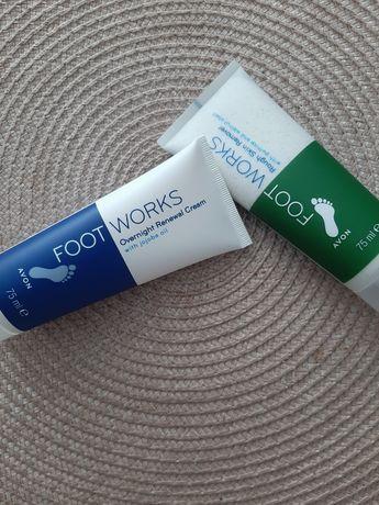 Zestaw do pielęgnacji stóp 2x75ml avon Footworks