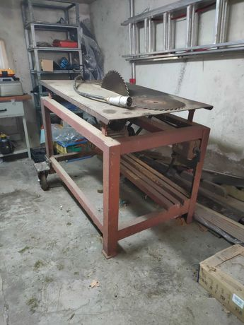 Piła stołowa do drewna 6KW 380V