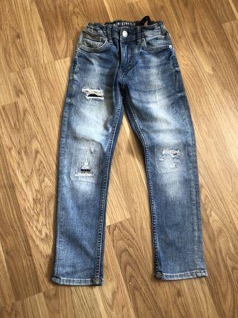 Штани джинси hm,zara на 6-7р