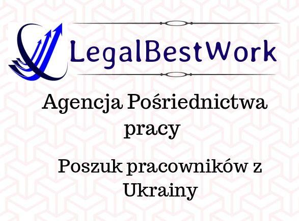 Pracownicy z Ukrainy. Leasing/Rekrutacja. Agencja posrednictwa pracy