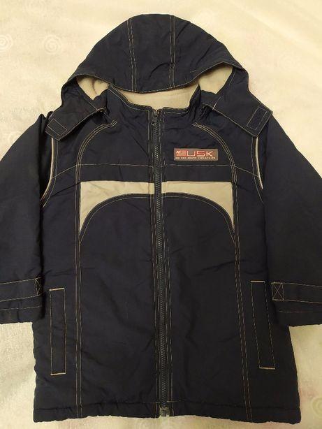 Зимняя куртка парка для мальчика 5-6 лет Next +подарок шапка