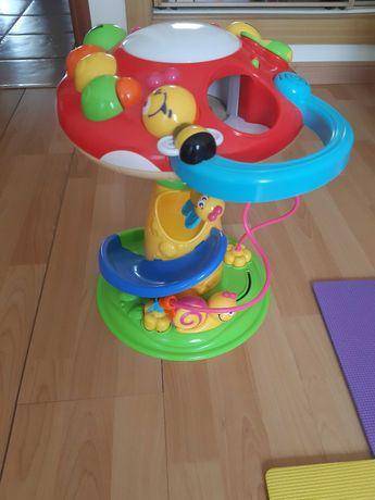 Brinquedo interativo - Cogumelo musical com atividades da clementoni