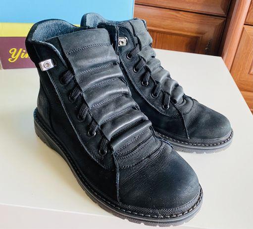 Ботинки для мальчика ! Натуральная кожа!