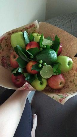 Букеты,оформл подар, букет со сладостями,фруктами, овощами.Мужские бук