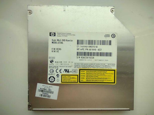 Пишущий DVD ДВД для ноутбука, мультиформатный, Hewlett-Packard