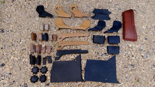 Plastiki foteli kieszenie różne kolory mercedes w123