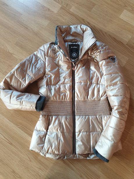 Złota zimowa kurtka Killtec M/L Idealna na narty.