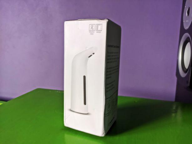 Электрический дозатор для мыла Сенсор 400 мл инфракрасный для мытья