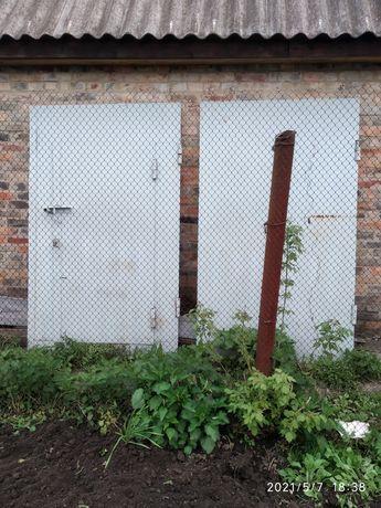 Ворота на гараж стан нових