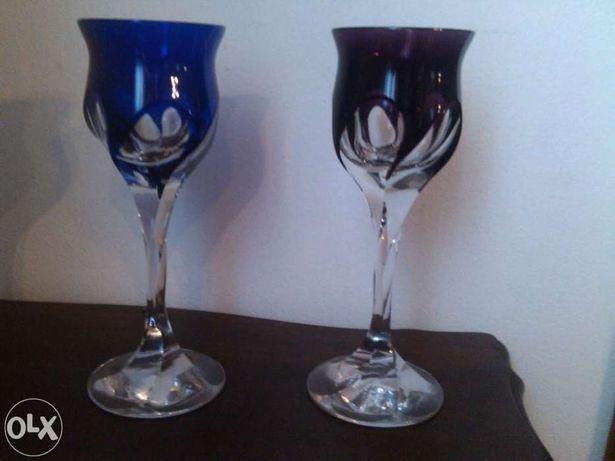 2 Cálices de cristal