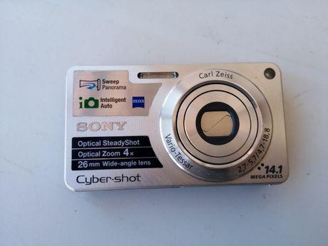 Máquina fotográfica digital Sony DSC W350