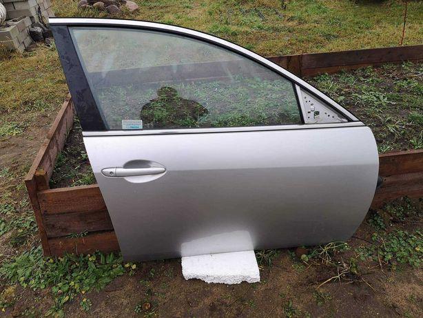 Drzwi prawe przednie Mazda 6 Gh 2008 - 2012 sedan srebrne