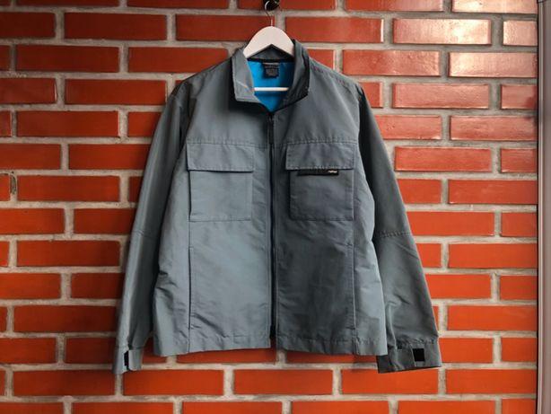 Nike Vintage мужская рефлективная куртка ветровка размер M найк б у