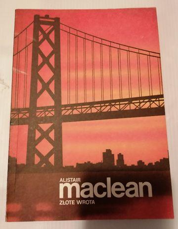 Alistair McLean książka Złote wrota