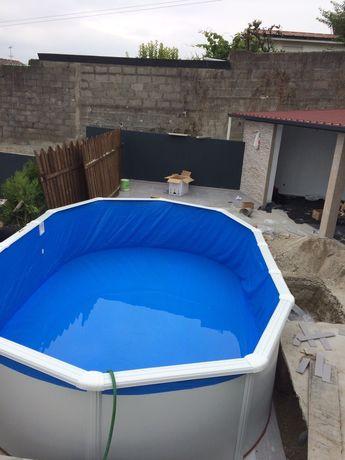 Montagens piscinas