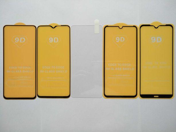 Защитное стекло 5/6/7/9/10D на Xiaomi Redmi Note 8 Pro Mi Lite T