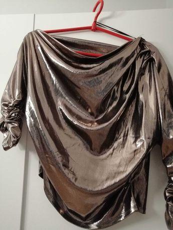 Błyszcząca bluzeczka, Zara, r XS/S