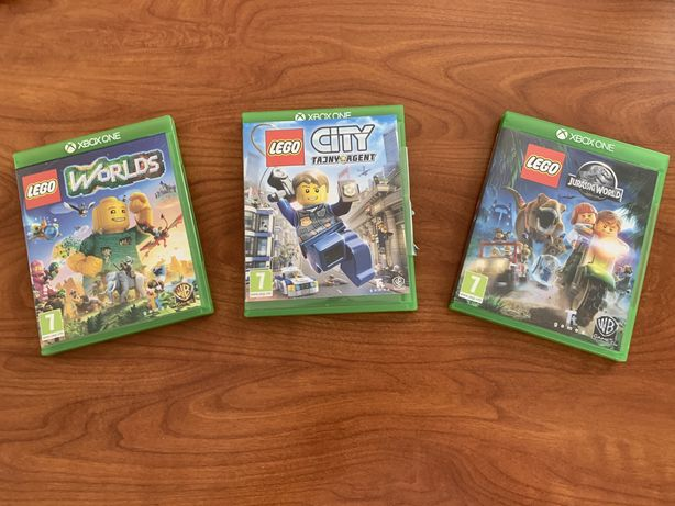 Lego Jurassic World/Lego City Tajny Agent/Lego Worlds