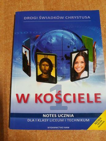 Drogi świadków chrystusa w kościele do liceum i technikum