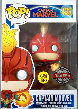 """Kapitan Marvel"" figurka Funko POP! Vinyl USA Special Edition"