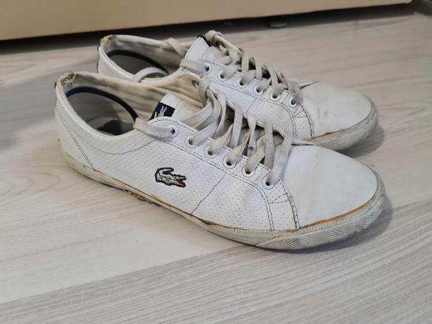 Buty trampki tenisówki Lacoste 38 białe