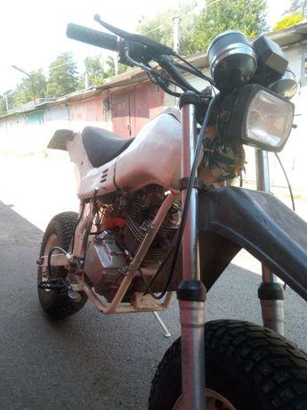 Мотоцикл Тула( модернизирован)