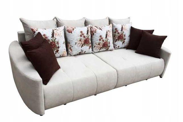 Sofa PEGAZ bardzo duża, nowoczesna, pojemnik + funkcja DOSTAWA KRAJ