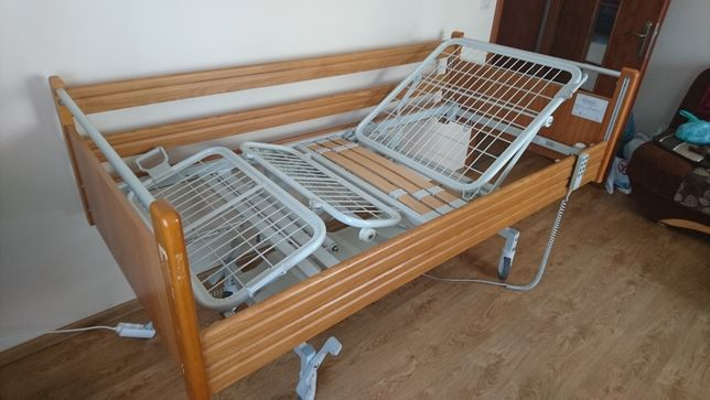 łóżko rehabilitacyjne używane + materac, gwarancja